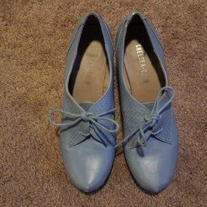 Powder Blue Chelsea Crew Shoes